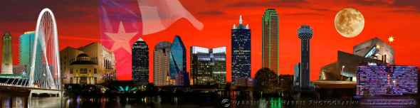 Dallas Fort-Worth Skyline 2017