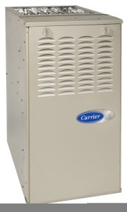 Carrier heating equipment from Warren Heating and Cooling