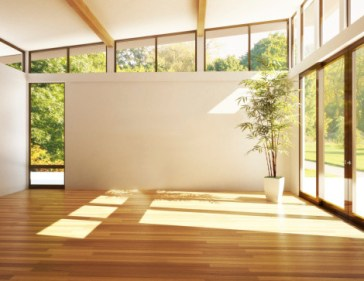 Sunny room with radiant heating from Warren Heating and Cooling.