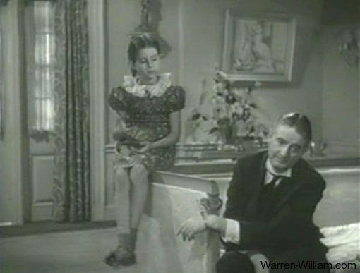 Virginia Weidler and Leonard Carey