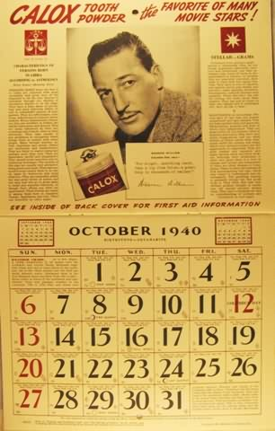 Complete October 1940 spread