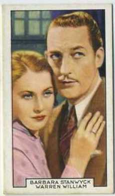 Barbara Stanwyck and Warren William