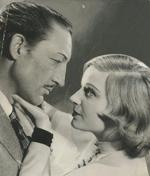 Warren William and Lili Damita in The Match King (1932)
