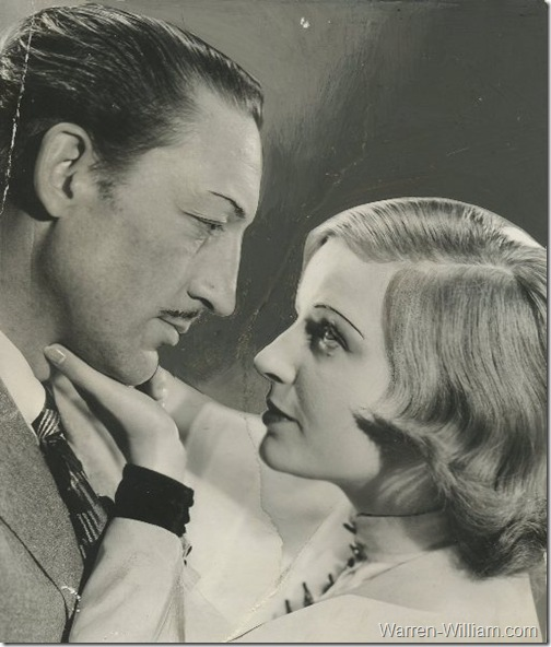 Warren William and Lili Damita in The Match King