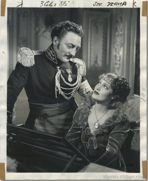 Warren William and Jeanette MacDonald in The Firefly at MGM