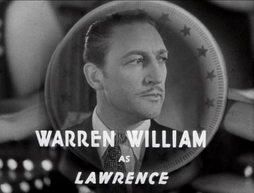 Warren William in Gold Diggers of 1933