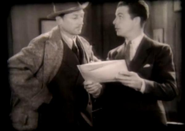 Warren William and Dick Powell