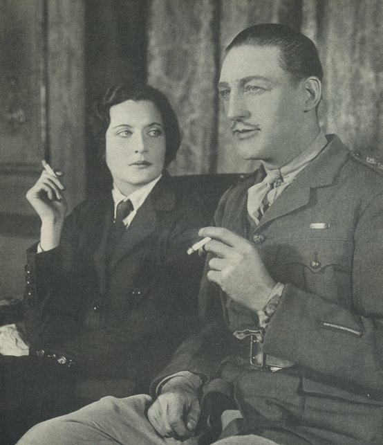 Warren William and Katherine Alexander