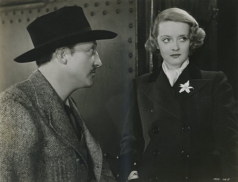 Warren William and Bette Davis
