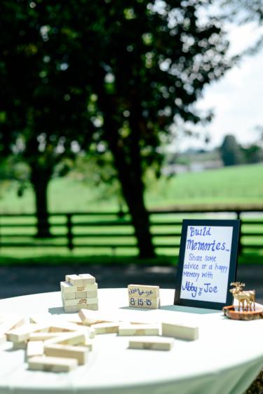 Cute wedding activities