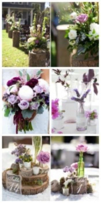 Event Styling: Rustic Elegent Floral Design Inspiration