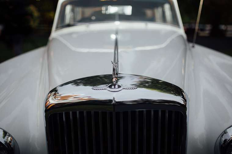 Rolls-Royce Stunning Classic Vintage Get-away Car for Bride & Groom