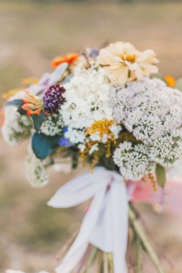 Warm Earthy Bridal Bouquet