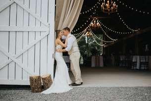 Rustic Country Bride & Groom in Warrenwood Manor barn