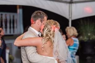 First dance at Warrenwood Manor wedding