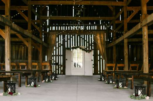 Kentucky Barn Wedding in the Fall