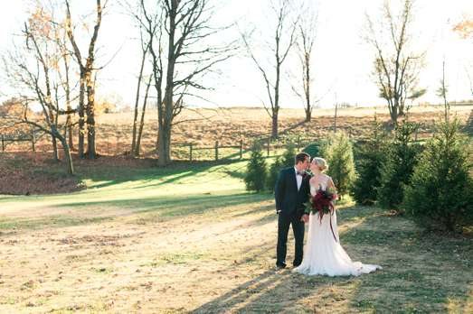 Outdoorsy winter wedding inspiration