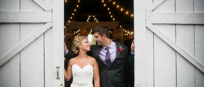 Refined Rustic Barn Wedding At Warrenwood Manor