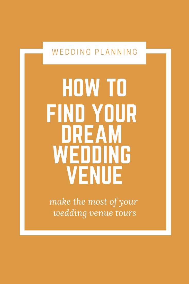 Finding your dream wedding venue starts with the tour