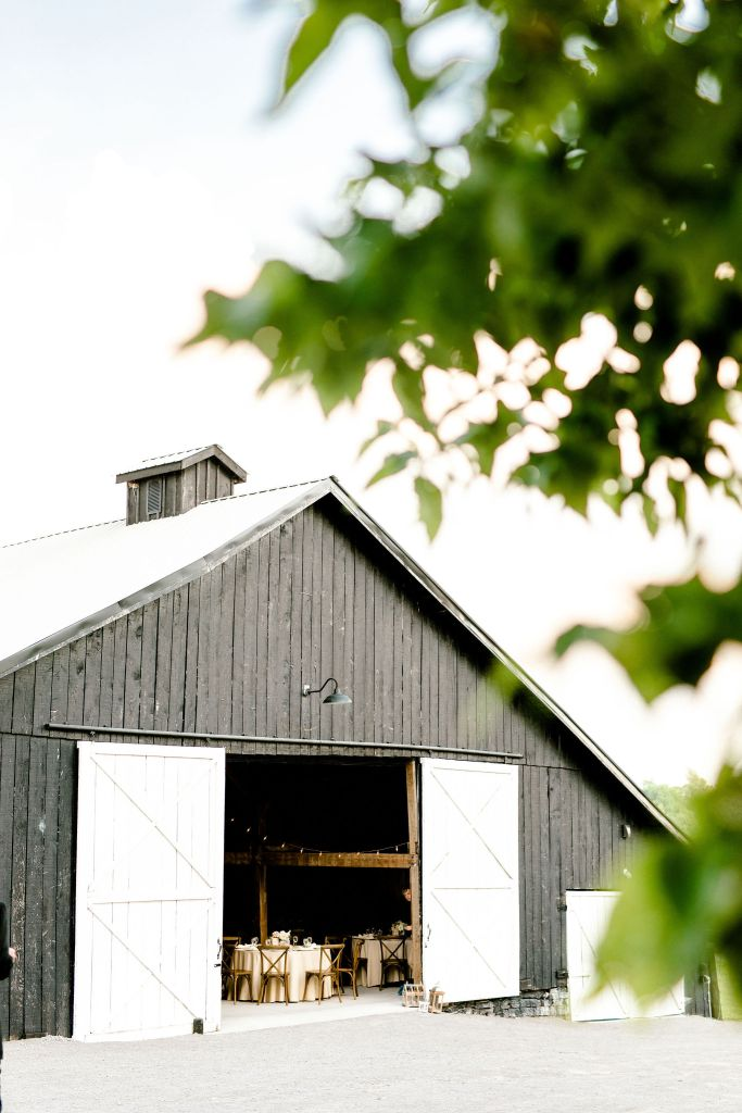 Pastel Spring Southern Chic Wedding at Warrenwood Manor - Kentucky Wedding Venue- Reception in renovated barn