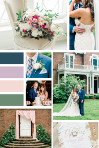 Romantic Pastel Spring Kentucky Wedding Inspo Board Mood Board - Warrenwood Manor