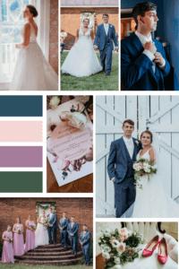 August Kentucky Wedding Mood Board at Warrenwood