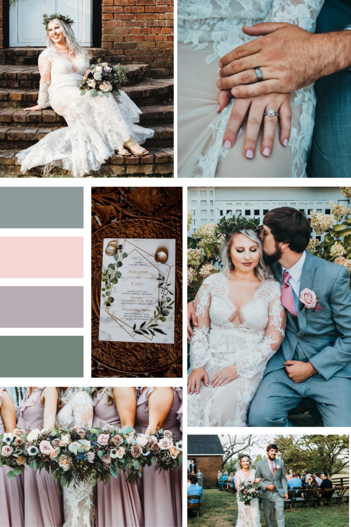 Romantic Boho Mood Board