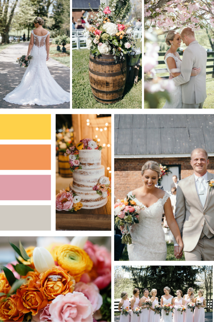 Bright Spring Wedding