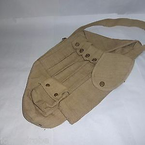 WWII US Army M1928A1 Thompson SMG Canvas Carry Case Holds 30 rds - Reproduction