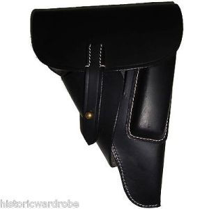 WWII German P38 Softshell Holster Black - Reproduction