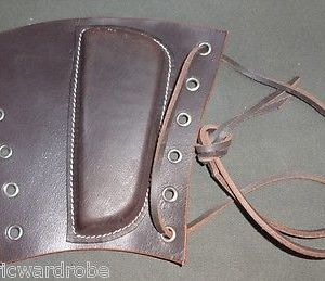 Belgian FAL Leather Sniper Cheek Pad also fits British SLR Dark Brown Repro