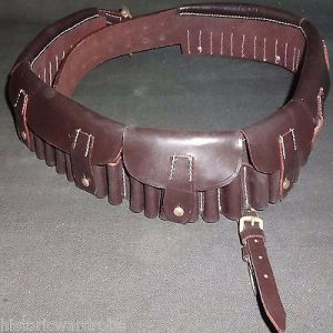 British Bandolier Martini-Henry P1882 / Boer War Bandolier Dark Brown Leather
