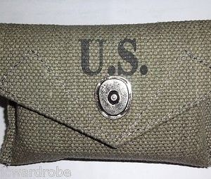 WWII US Army M1942 First Aid Kit Pouch - Reproduction