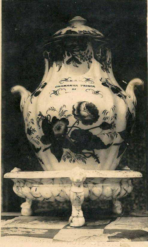 This shows how wealthy Prince Oritsemone was with his name written on the jug