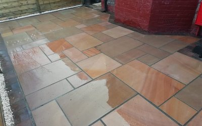 The process of installing Block Paving Driveways