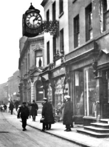 Eustance's Clock, Sankey Street.