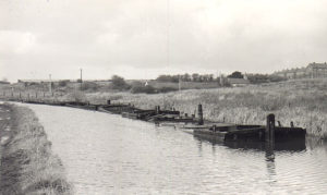 Abandoned Mersey Flats, pictured here in 1961