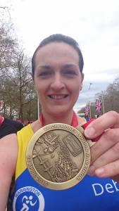 Debbie London Marathon 2
