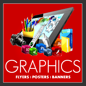 Graphic Design - Flyers, posters banners and more