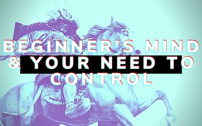 Beginner's Mind & Your Need For Control
