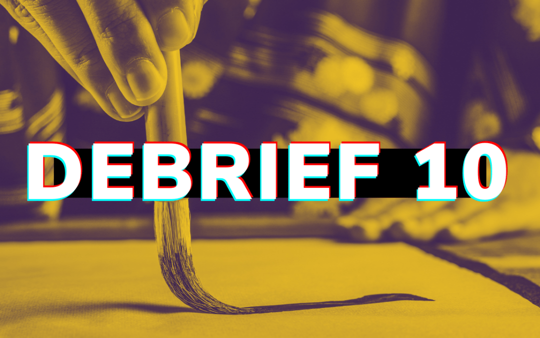 Debrief 10: Becoming Exceptional, 20 Paradoxes that are true, Gratitude FTW