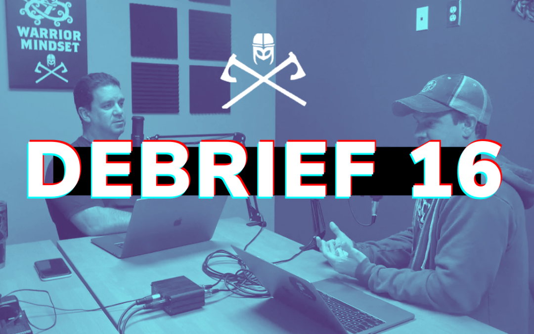 Debrief 16: Little things that tell you a lot about a person
