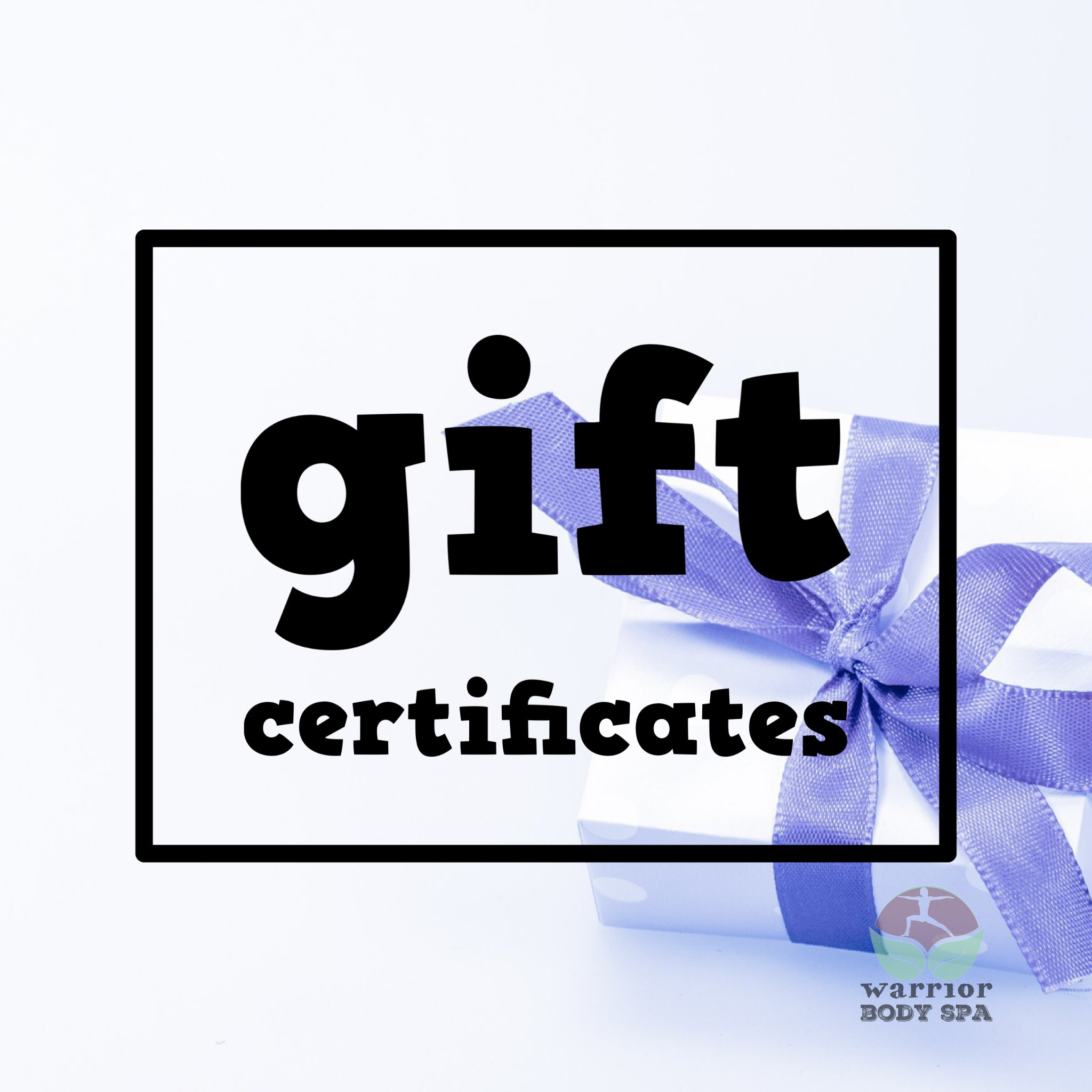 Atlanta Spa Gift Certificates