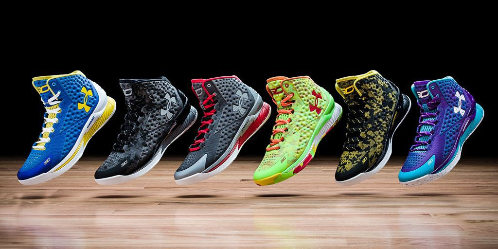 #CurryOne Under Armour