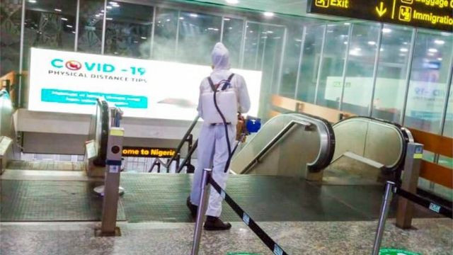 FG advised to shut down airports for two weeks after Indian variant of COVID-19 is found in two states