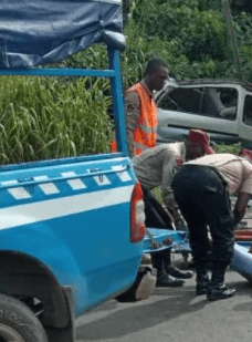 Ghastly motor accident in Edo, claim lives of nine people who were returning from a wedding