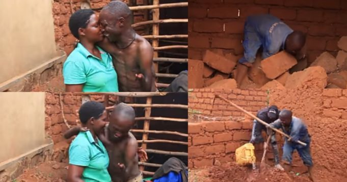 Man narrates emotional story of how he met the love of his life (Video)