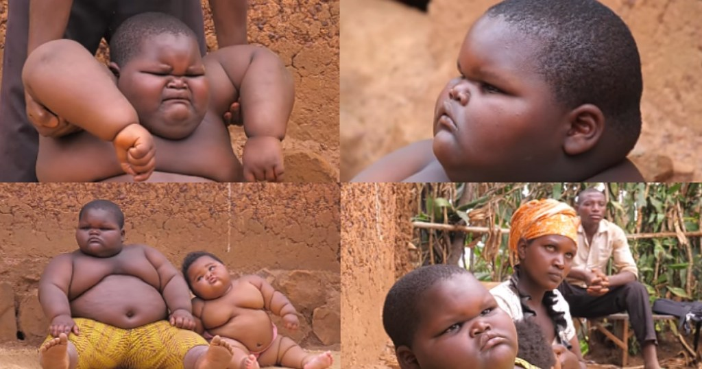 Mother cries out over her two kids who are increasing daily in size (Video)