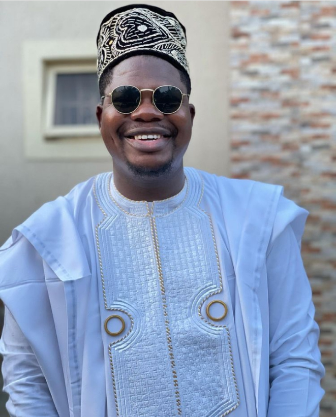 Mr Macaroni reacts after comedian Ay dragged him for allegedly making advances at his wife