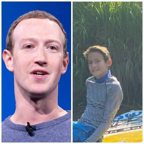 See what Facebook CEO Mark Zuckerberg replied a kid who took his Mum's phone to text him (Screenshot)